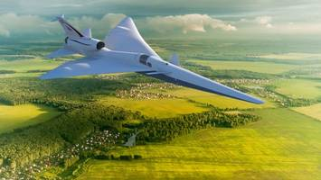 lockheed begins construction on nasa's quiet supersonic aircraft