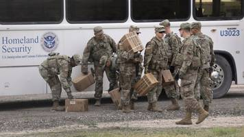 Pentagon Says Current Cost For US Troops Sent To Border Is $72 Million