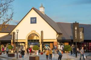 build a bear, nike and converse among the east midlands designer outlet shops offering black friday deals