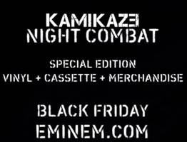 eminem announces kamikaze night combat release for black friday