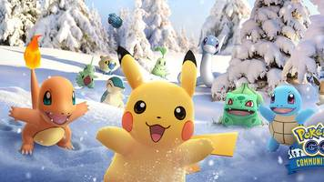 pokémon go's december community weekend brings back all the past event pokémon
