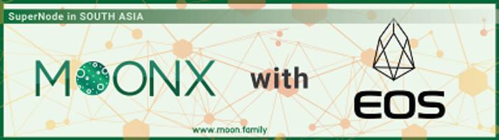 moonx starts the campaign for eos supernode