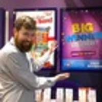 hamilton lotto shop sells second winning ticket almost a year to the day
