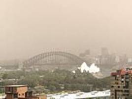 dust storm to hit sydney - and it could be worse than 2009's 'red dawn'