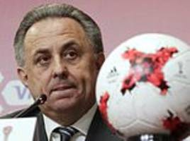 vitaly mutko returns to senior role in russian football after stepping aside amid doping scandal