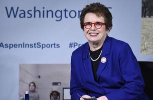 tennis great billie jean king feted for 75th birthday
