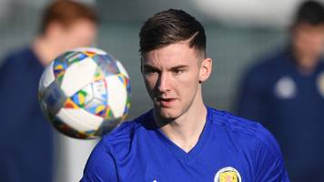 kieran tierney: celtic defender 'gutted' to be pulled out of scotland double-header