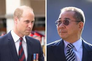 prince william explains how he was a friend of khun vichai in tribute to leicester helicopter crash victims