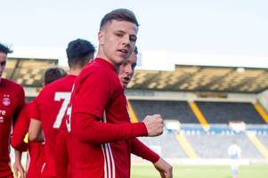 aberdeen starlet bruce anderson reveals he got a lifestyle lecture from adam rooney