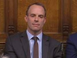 raab says may's brexit deal is worse than staying in the eu