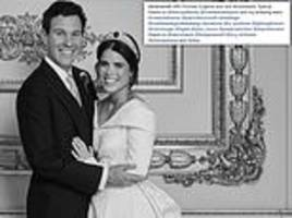 twelve-person team behind princess eugenie's wedding portraits