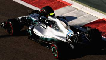 abu dhabi gp: valtteri bottas fastest as red bull show pace