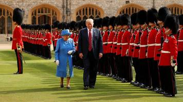 trump visit and royal wedding cost thames valley £9.4m
