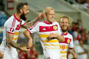 steven fletcher and steven naismith would make dream scotland strike pairing claims hearts star sean clare