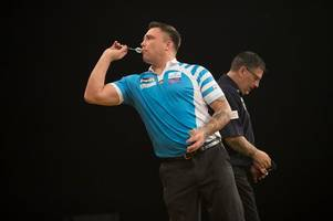 darts player gerwyn price gets booed in first match since controversial win against gary anderson