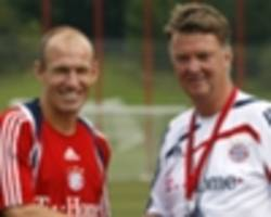 'van gaal & van bommel central to bayern move' - robben says dutch pair influenced munich move
