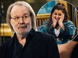 the x factor: abba legend benny andersson gives acts masterclasses ahead of mamma mia!-themed night