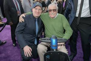 marvel studios chief kevin feige wrote a tribute to stan lee, and described their final meeting: 'maybe on some level, he knew'