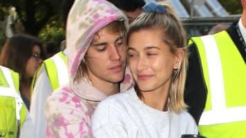 justin bieber celebrates thanksgiving as a married man