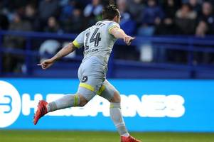 sheffield wednesday 1-2 derby county - how the first half unfolded