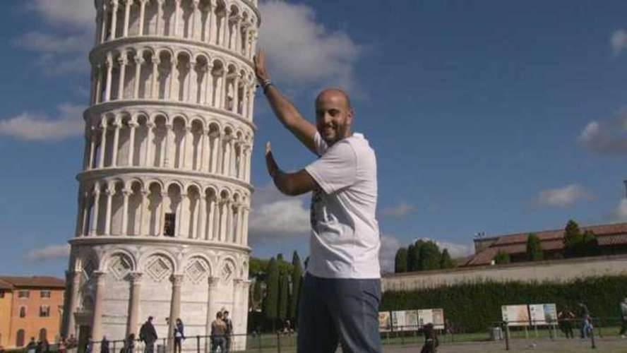 The Leaning Tower of Pisa Has Started Straightening Up