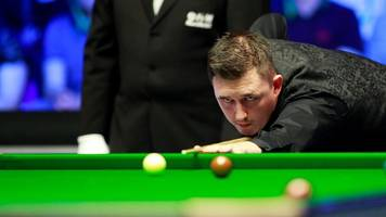 uk championship: kyren wilson takes inspiration from son finley in chase for triple crown win