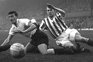when derby county's glyn davies made the 'hardest tackle' against sheffield wednesday
