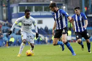 why florian jozefzoon was handed derby county start at sheffield wednesday