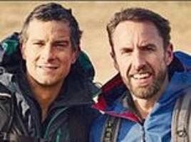 england boss gareth southgate heads into the wilderness with survival expert bear grylls