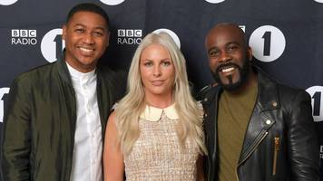 rickie, melvin and charlie leave kiss to replace charlie sloth on bbc radio 1