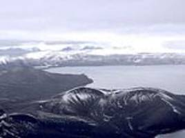 antarctica's horseshoe-shaped deception island was sculpted by volcanic eruption 4,000 years ago