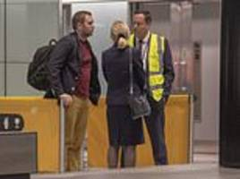 brit matthew hedges who was facing life in jail for 'spying' in uae arrives back in uk
