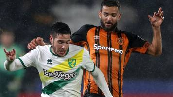 hull city 0-0 norwich city: canaries held to draw against tigers