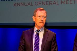 dave king's rangers agm speech in full as he tells graeme murty 'you are my man of the year'