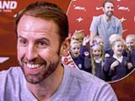 gareth southgate reveals his biggest fear as england manager is grilled by kids