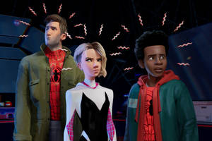 'spider-man: into the spider-verse' film review: animated arachnids cross paths in clever superhero saga