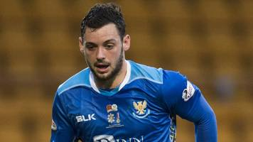 drey wright: st johnstone winger to miss rest of season with knee injury