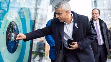 contactless donation points unveiled by london mayor
