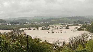 how llanelli avoided flooding during storm callum