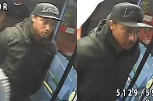 cctv images released in hunt for sex attacker who followed woman off brixton night bus