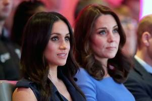 kate 'in tears' after meghan's strict demands over princess charlotte's bridesmaid's dress