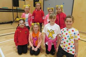 Dalbeattie Primary kids support fundraising for Children in Need and Janice Jamieson Memorial Trust
