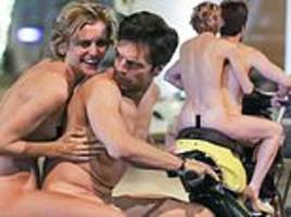 avengers star sebastian stan strips off to ride a scooter naked through the streets of athens