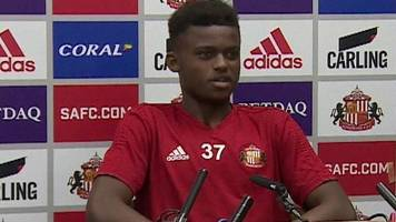 safc player bali mumba takes over jack ross' press conference