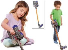 There's a mini Dyson vacuum cleaner for kids - and it actually works