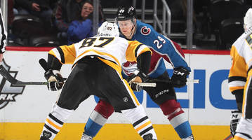 offseason pals sidney crosby, nathan mackinnon showcased their genius on wednesday night