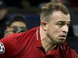 liverpool elegend jamie carragher told xherdan shaqiri about importance of merseyside derby