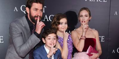 john krasinski explains how he's approaching the sequel to 'a quiet place,' and why he hates the idea of a 'popular film' oscar