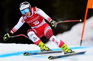 schmidhofer takes lake louise downhill for 1st world cup win