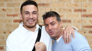 sonny bill williams: ring girls asked to leave by all blacks player